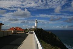 Cape Byron (roboterwohnung) Tags: sea lighthouse clouds meer oz wolken australia qld queensland cape australien byronbay leuchtturm capebyron