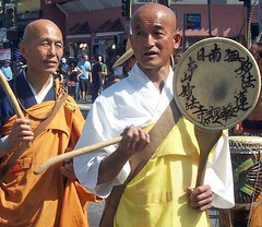 Buddhist Drummers (Twitchietai) Tags: b march losangeles peace drum buddhist protest monk m demonstration hollywood winner peacemarch march17th twtme twtmesh180717 tartyshots