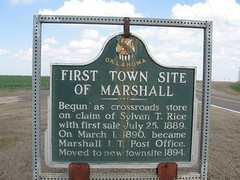 Exploring Oklahoma History: First Town Site of Marshall