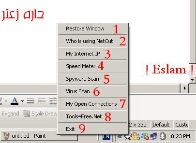 ����� Antinetcut program