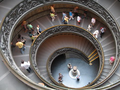 Spiral staircase (Jason's Travel Photography) Tags: people italy rome roma architecture stairs bravo explore museivati