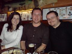 Jen, Eddie and me