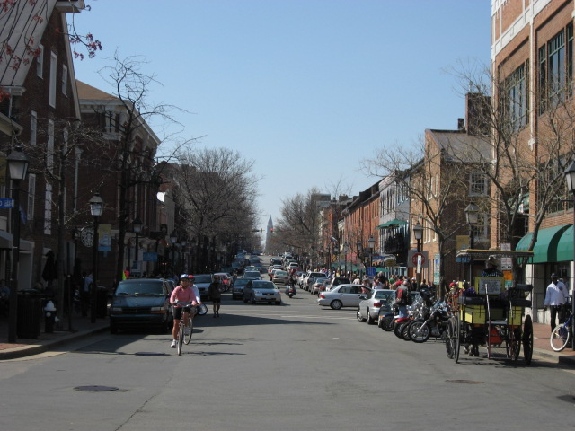 King Street in Old Town Alexandria