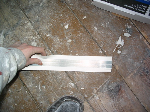 Seam tape, metal reinforced