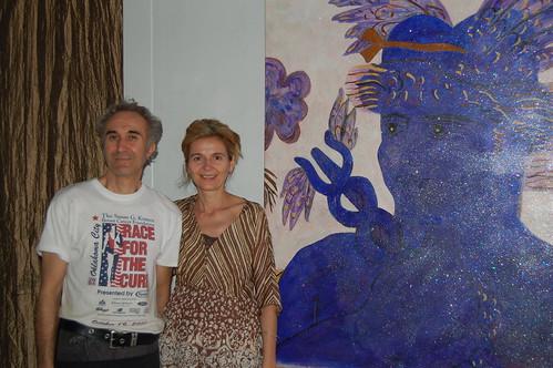 Gino and Olina - owners of Nikkolini Organicity