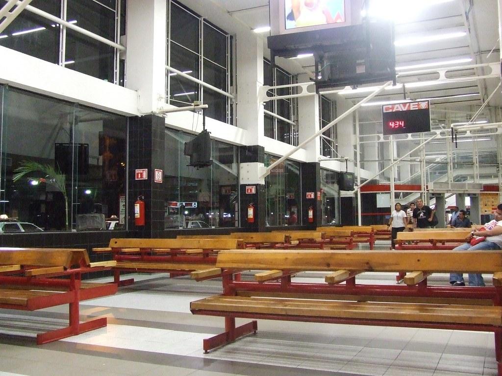 Terminal del ADO en Veracruz Puerto