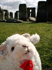 Jenny in the UK - Stonehenge