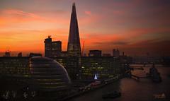 London: Southwark (Marcial Carretero) Tags: london londres city londonbridge cityhall atardecer sunset hmsbelfast rascacielos skyscraper shardofglass southwark buildings