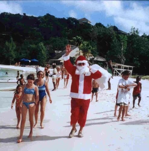 Caribbean Santa Claus Caribbean Travel Advice Photos 2009
