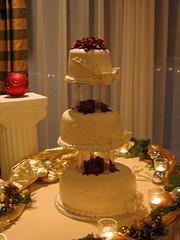 Erin and Chris' cake