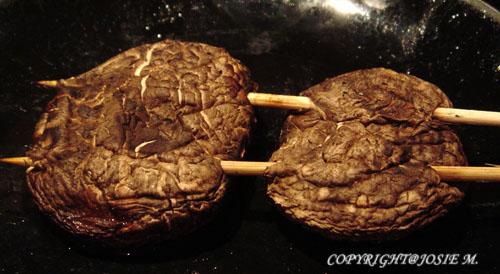 Grilled Shitake Mushroom