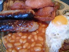 Cooked Breakfast (Kaptain Kobold) Tags: food mushrooms bacon beans egg sausage explore friedegg bakedbeans myfave kaptainkobold friedbread cookedbreakfast friedmushrooms yourfave interestingness363 i500 utatafeature