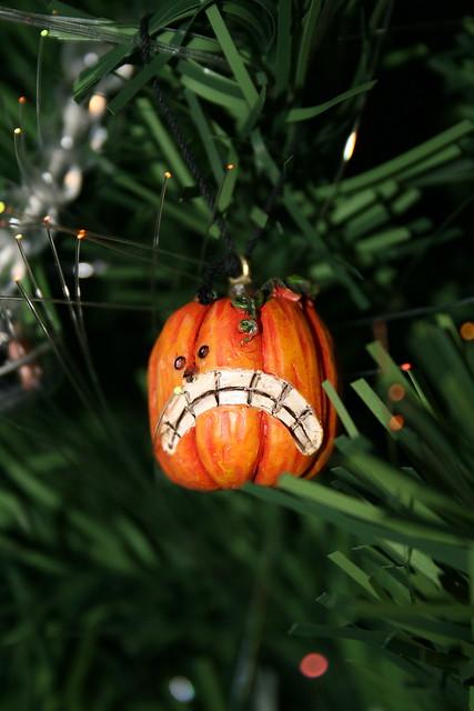 xmas tree halloween jackolantern ornament xmas06
