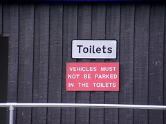 """How reassuring (nz_willowherb) Tags: see flickr tour notice toilet visit vehicle shetland willowherb to"""" """"go visitshetland seeshetland goptoshetland"""