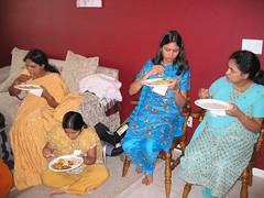 2006_10_07_Pinky_SreeMantham0069 (ashwin_to) Tags: kolam rangoli indianbabyshower sreemantham