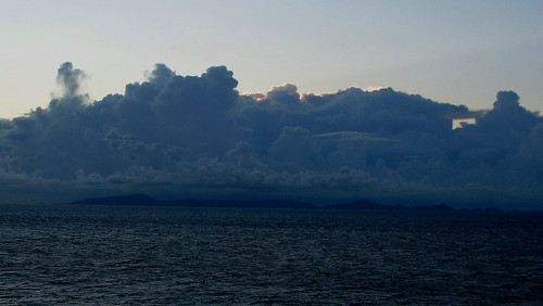 A shot of the morning sky taken in the Grenadines.