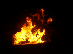 Fire (eL reEem eL sro0o7e ♥) Tags: world trip sea lost fire