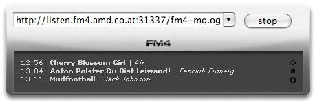 (unofficial) FM4 widget