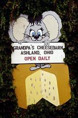 Grandpa's Cheesebarn Mouse