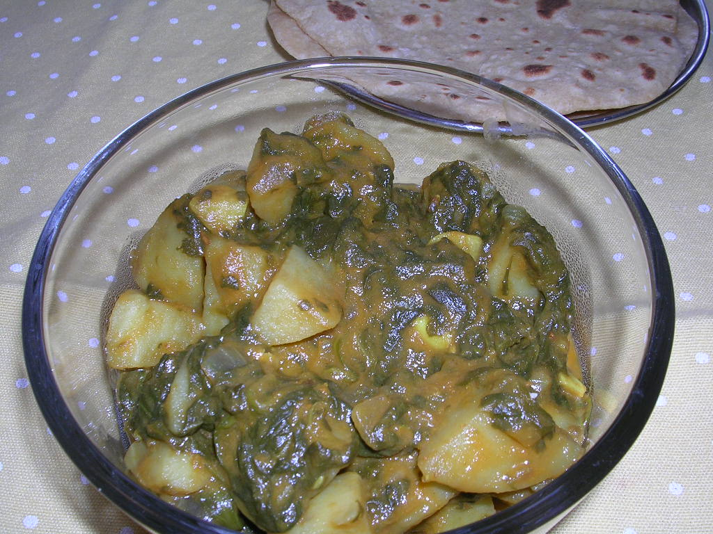 Spinach Potato