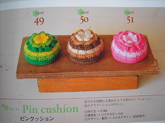 pincusions (sew-mad) Tags: japanese book crochet craft pincushion isbn mook grannysquare wakuwaku crochetmotifitem seibido 4415103650 sewmad