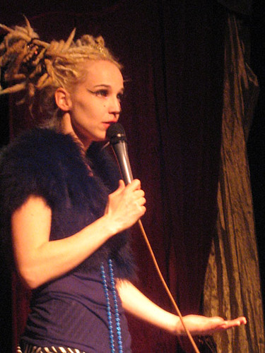 Sara de Vylder at Södra Fot's New Year Cabaret