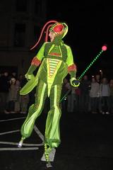 Neon Grasshopper