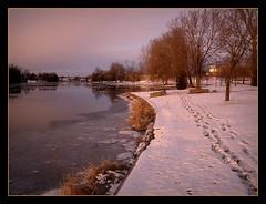 mississippi_ice2 (Tim Noonan) Tags: snow art ice river footprints manipulation legacy tistheseason trolled awardtree daarklands flickrvault magiktroll