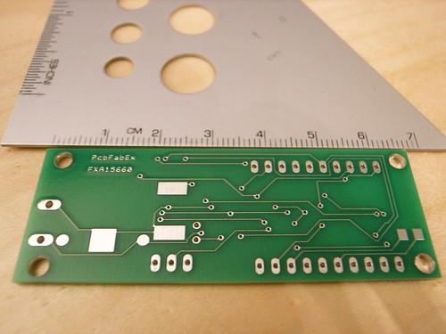 Flavonoid PCB Prototype Recto