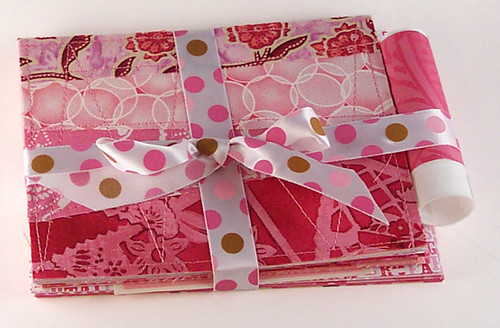 Fabric cards - all tied up