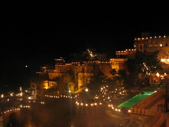 View from my room (pranav_seth) Tags: india rajasthan neemrana neemranafort alwar incredibleindia