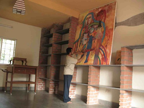 the large painting