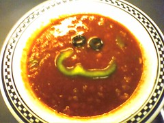 Happy gazpacho