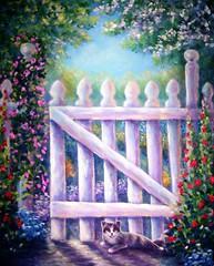 Garden Gate Guard