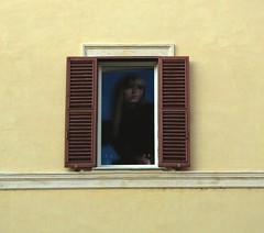 Secular Frame (DarkFrame) Tags: windows italy rome roma window italia finestre 2for2 sacroeprofano finesttra