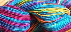 Colinette Jitterbug yarn