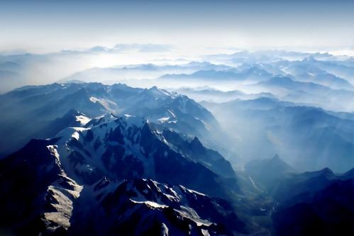 フリー画像| 自然風景| 山の風景| 霧/靄| アルプス山脈|       フリー素材|