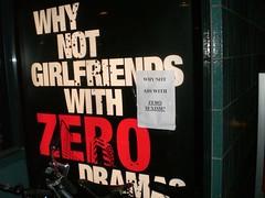 Zero sexism?