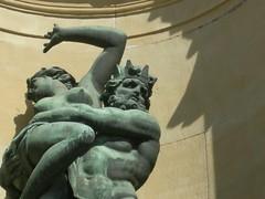 Aegir and Ran (future15pic) Tags: statue bronze sweden stockholm palace capture mythology rán Ægir titen