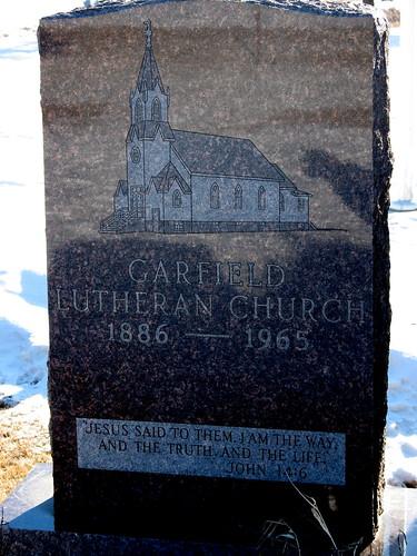 Garfield Lutheran Marker