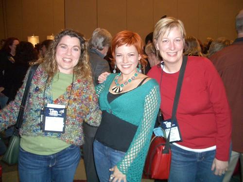 Susi, Vickie Howell, & I