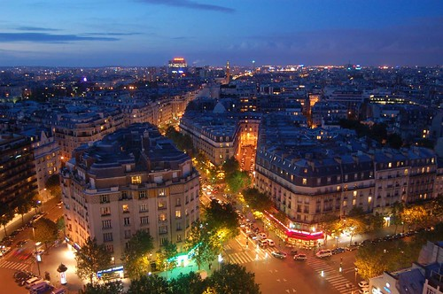 Panorama Paris: City of Light (and love♥) by EricK_1968