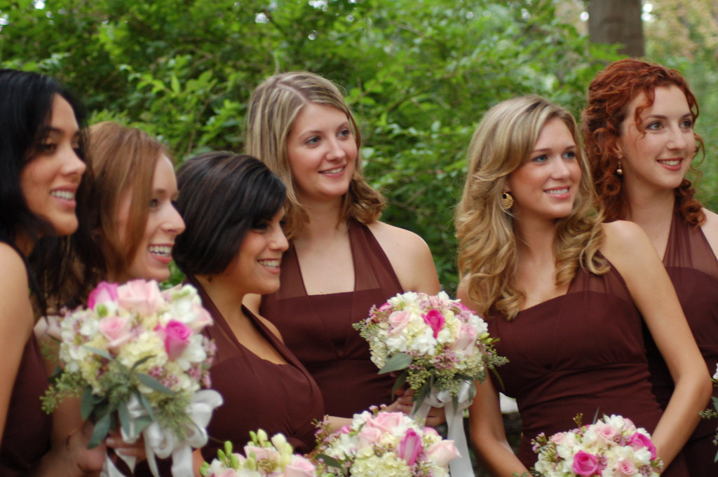 Bridesmaids Hairstyles Long Hair Bridesmaid Hairstyles