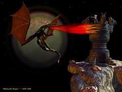 Atack of the Dragon (kenmojr) Tags: 3d dragon fantasy 3dart 3drender vue vueesprit krm kenmojr