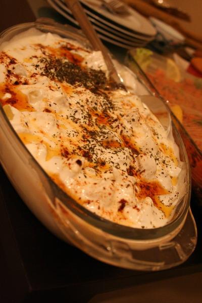 kolay ama dehşet güzel patates mantı:)