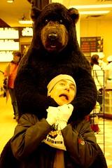 People hugger this one (photo_jenny) Tags: bear canada rockies hug banff rockymountains strangled