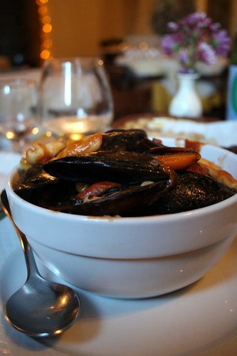 Cavatelli with Cozze e Fagioli (Pasta with mussels and beans)