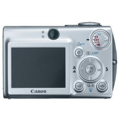 Canon SD 500 Back