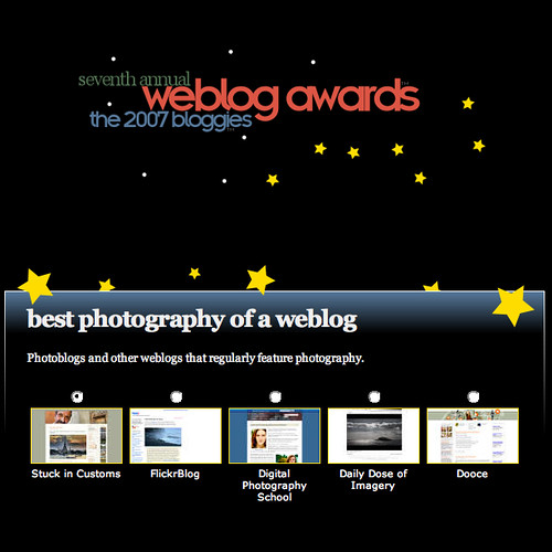 2007 Bloggies Nomination