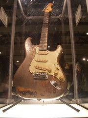 Rory Gallaghers guitar (Patrizia) Tags: guitar rorygallagher rockchic